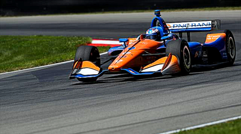 Dixon Wins Mid-Ohio After Late Battle with Rosenqvist