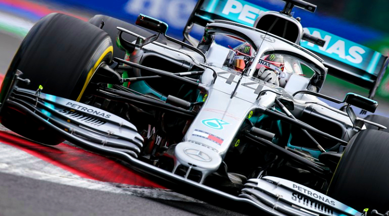 Hamilton Wins in Mexico, Misses Title by 4 Points