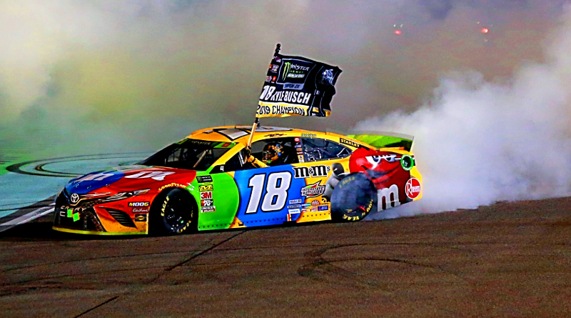 Kyle Busch Takes 2nd Career Championship