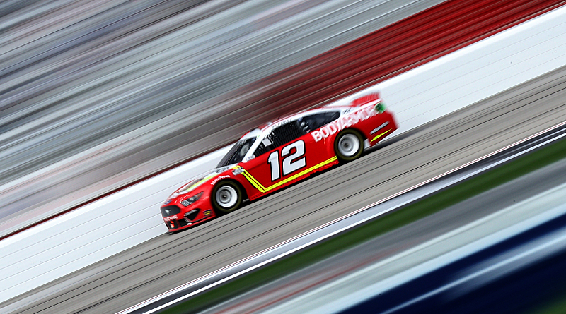 Blaney Makes Late-Race Pass for Atlanta Win