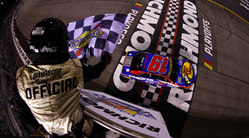 JGR Finishes 1-2-3 at Richmond, Truex Takes Home Victory