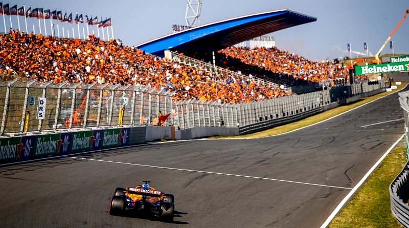 Verstappen Wins In Front of Home Crowd at Dutch Grand Prix